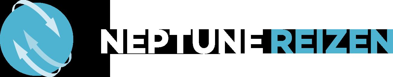 Neptune Reizen logo wit - Reisbureau Izegem